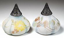 MT. WASHINGTON FIG / BEET (OMN) SALT AND PEPPER SHAKERS, LOT OF TWO