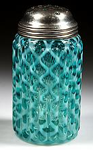 RIBBED OPAL LATTICE SUGAR SHAKER