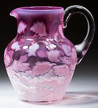 UNIDENTIFIED FLORAL PATTERN MILK PITCHER