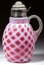 BUBBLE LATTICE - BUCKEYE SYRUP PITCHER