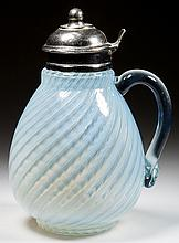 SWIRL - NICKEL PLATE NO. 90 SYRUP PITCHER