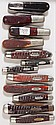 CASE XX 1940-1960 POCKET KNIVES, LOT OF 12