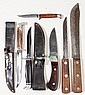 CASE HUNTING AND KITCHEN KNIVES, LOT OF SIX