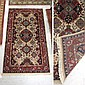 SEMI-ANTIQUE CENTRAL PERSIAN RUG, SIGNED