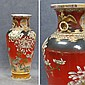 JAPANESE SATSUMA DECORATED PORCELAIN VASE