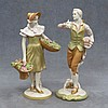 LOT (2) ROYAL DUX PORCELAIN CONTINENTAL FIGURES