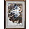 BEV DOOLITTLE (AMERICAN 20TH CENTURY), LITHOGRAPH