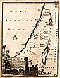 Map of the Holy Land. Adrian Reland. Nuremberg. 1716?