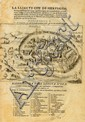 Map of Jerusalem. 1627. Hierosolymaurbs Sancta Iudeae.  Braun