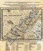 Map of Israel. Guillaume Postel. Lyon, 1569.