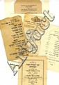 Collection of Leaves from Various Communities for the Month of Tishrei, [1908-1940]. [10].