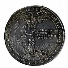 Silver Medal. Germany, 1679