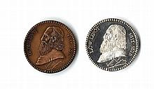 Lőw Lipót (1811-1875). Commemorative Medal [2]. End of the 19th Century