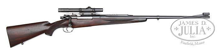 *HOFFMAN ARMS COMPANY MAGNUM MAUSER CUSTOM RIFLE WITH SCOPE.
