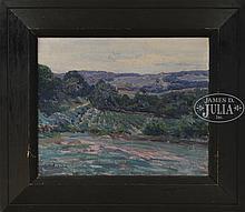 CHARLES HAROLD DAVIS (American, 1856-1933) SUMMER HILLS