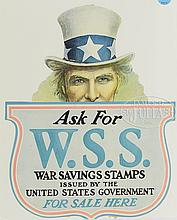 7 POSTERS AND BROADSIDES FEATURING THE IMAGE OF UNCLE SAM.
