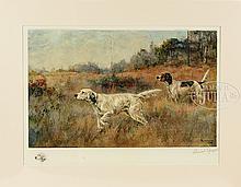 PERCIVAL L ROSSEAU (American, 1869-1937) TWO WORKS: