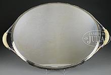 LARGE & RARE GEORG JENSEN STERLING SILVER