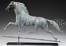 COPPER RUNNING HORSE
