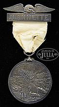 EXTREMLEY RARE SILVER CONGRESSIONAL MEDAL FOR THE SURVIVOR