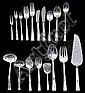 84 PIECE STERLING SILVER FLATWARE SET BY REED & BARTON IN THE