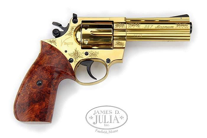 *EXTREMELY RARE KORTH ANNO DOMINI 2000 MODEL DA REVOLVER WITH CASE.
