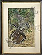 LYNN BOGUE HUNT (American, 1878-1960) RUFFLED GROUSE., Lynn Bogue Hunt, Click for value