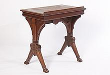 DANIEL PABST MECHANICAL ARCHITECTS TABLE 1870