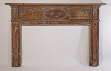AMERICAN FEDERAL FIREPLACE MANTLE 1800