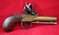 Late 18th Century English FlintlocK Pocket Pistol