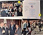 Three Authentic Signed Photos of George H.W. Bush
