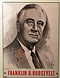 Authentic1944  FDR Campaign Poster