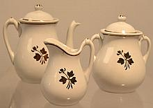 (3) PIECE CHILDS TEA LEAF LUSTRE TEA SET