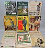 BOX LOT OF MISC. THEATRE, STAGE AND ENTERTAINMENT MAGAZINES FROM THE 1910'S-1960'S