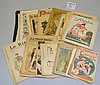 LOT OF 19TH CENT. AND EARLY 20TH CENT. FRENCH MAGAZINES
