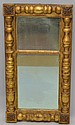 N.E. SHERATON GILT SPLINT COLUMN MIRROR