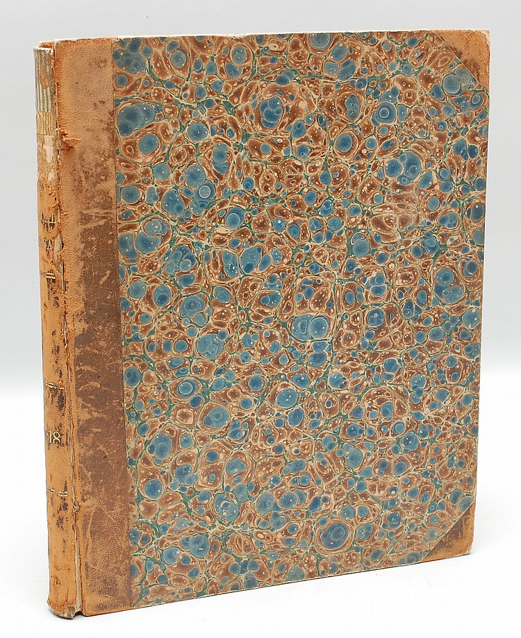 1853 BOUND VOLUME OF THE AMERICAN PHRENOLOGICAL JOURNAL