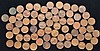 68 MINT MARKED WHEAT PENNIES PRE 1940