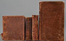 DICTIONARIES - 4 Volumes in Leather