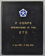 History V Corps, June 6, '44 / V Corps Operations in the E T O, 6 Jan. 1942 - 9 May 1945