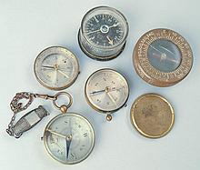 (5) MISC. LATE 19TH CENT. & 20TH CENT. COMPASSES