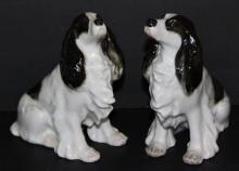 USSR Porcelain Spaniel Dog Figures