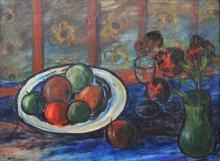Max McCabe (Irish, 1918) Still Life Oil Painting