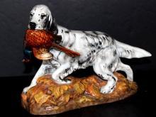 Royal Copenhagen Porcelain Dog Figurine