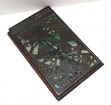 Tiffany Studios New York Art Glass Note Pad