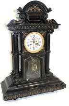 Large European Marble Mantel Clock