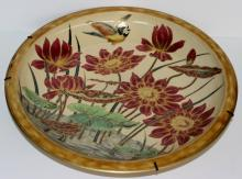 Zsolnay Hand Painted Porcelain Charger