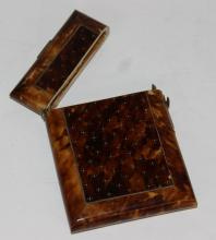 Tortoise Shell Visiting Card Case