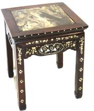 Antique Chinese Carved Teakwood Pedestal