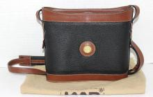 Land Leather Feed Bag Style Purse